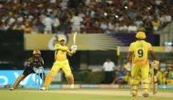 IPL 2018, KKR vs CSK: धोनी ने खेली आक्रामक पारी, केकेआर के सामने 178 रनों का लक्ष्य