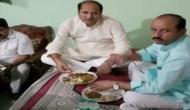 योगी के मंत्री सुरेश राणा की खुली पोल, दलित ने बताया साथ खाने का सच