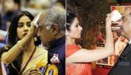श्रीदेवी की तरह पापा बोनी को लेकर काफी केयरिंग हैं जाह्नवी, देखें तस्वीर