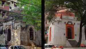Medieval-era monument converted into temple in Delhi