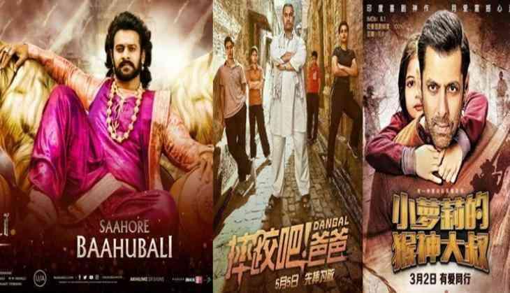 China Box Office: Baahubali 2 shatters the opening day records of Aamir Khan's Dangal and Salman Khan's Bajrangi Bhaijaan