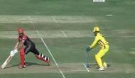 IPL 2018, RCB vs CSK: धोनी की बिजली की रफ्तार से स्टंपिंग देख हैरान रह गए डिविलियर्स, देखें वीडियो
