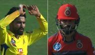 IPL 2018: कोहली का विकेट लेकर खुश नहीं हुए जाडेजा, दिया अजीब रिएक्शन, देखें वीडियो