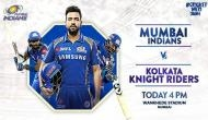 IPL 2018: KKR को हराकर जीत की लय बरकरार रखना चाहेगी मुंबई इंडियंस