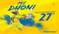 IPL 2018: माही ने तोड़ा अपना ही रिकॉर्ड, बने IPL 2018 के सिक्सर किंग