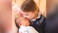 Cuteness overloaded! British royal family releases pictures of Princess Charlotte kissing Prince Louis