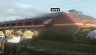 हावड़ा-मुंबई CSMT मेल के इंजन में लगी आग, ड्राइवर और असिस्टेंट घायल