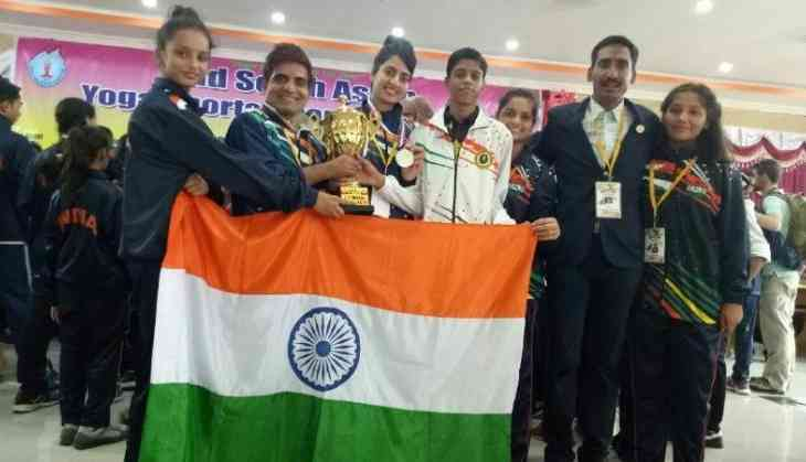 Indian yoga contingent shines at South Asia Championship in Nepal