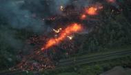 अमेरिका: ज्वालामुखी ने मचाया तांडव, 200 फुट उठे लावे में कई घर तबाह