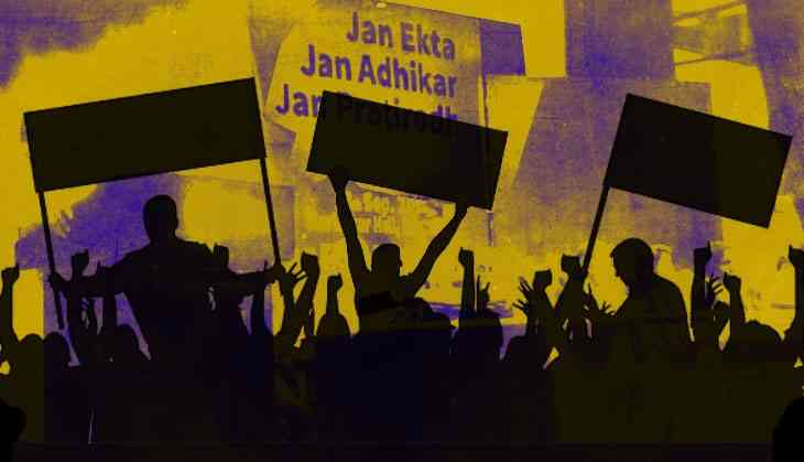 Mass organisations come together to count Modi's failure