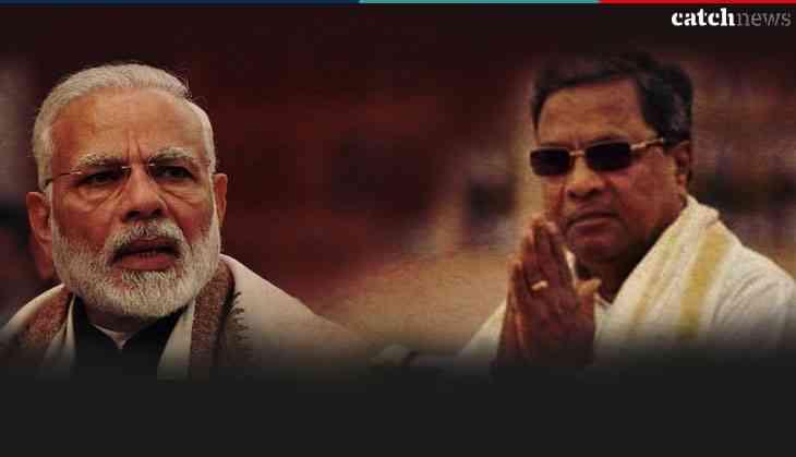 Narendra Modi in Chitradurga, Karnataka, accuses Congress of insulting Dr. BR Ambedkar