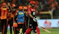 कोहली एंड कंपनी की IPL 2018 से छुट्टी, प्लेऑफ में पहुंचने वाली पहली टीम बनी हैदराबाद