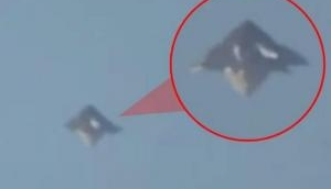 Alien Arrival! 'UFO' travelling amidst lightning bolt seen at this place; here see video