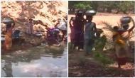 Locals in Chhattisgarh village walk extra mile to fetch water everyday