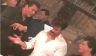 Video: Shah Rukh Khan and Salman Khan sets fire on the dance floor with Anil Kapoor at Sonam Kapoor's wedding reception