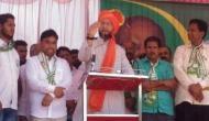 कर्नाटक: असदुद्दीन ओवैसी ने भगवा पगड़ी पहन इस पार्टी के लिए मांगे वोट