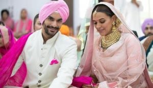 Neha Dhupia revealed this celebrity played an important role to get her married to Angad Bedi