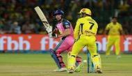 IPL 2018, CSK vs RR: राजस्थान का स्कोर 100 के करीब, जोस बटलर क्रीज पर मौजूद