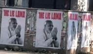 दिल्ली में कई जगह लगे मोदी 'द लाई लामा' के पोस्टर, उठा विवाद