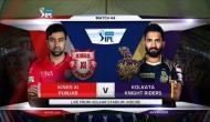 IPL 2018, KXIP vs KKR: कोलकाता की सधी हुई शुरुआत, लिन - नारायण क्रीज पर