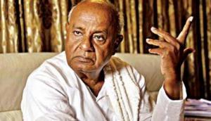 कर्नाटक चुनाव: एग्जिट पोल देख बदला देवगौड़ा का मूड, नतीजोंं से पहले दिए गठबंधन के संकेत