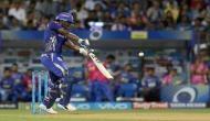 IPL 2018, MI vs RR: इविन लुइस की अर्धशतकीय पारी के दम पर मुंबई ने राजस्थान को दिया 169 रनों का लक्ष्य