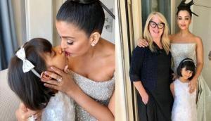 आराध्या ने ऐश्वर्या को KISS कर कहा कांस फेस्टिवल के लिए Best of Luck, देखें तस्वीर