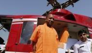 डीएम की एक चूक की वजह से खेत में उतारना पड़ा योगी आदित्यनाथ का हेलिकॉप्टर