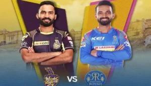 IPL 2018, KKR vs RR: राजस्थान ने जीता टॉस, रहाणे ने केकेआर के सामने पेश की ये चुनौती