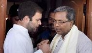 Siddaramaiah terms BJP's forming govt 'unconstitutional'