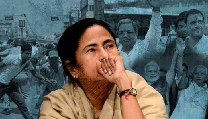 Mamata faces flak over WB poll violence even as she supports anti-BJP alliance in Karnataka