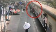 Video: चीते जैसी फुर्ती दिखाकर जवान ने चलती ट्रेन से गिरी बच्ची की बचाई जान, रेल मंत्री ने की तारीफ