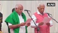 कर्नाटक: सुप्रीम कोर्ट की हरी झंडी के बाद येदियुरप्पा ने तीसरी बार ली मुख्यमंत्री पद की शपथ