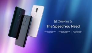 भारत में दो वेरिएंट के साथ लॉन्च हुआ OnePlus 6, जानें कीमत और फीचर्स