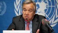 UN Secretary-General Antnio Guterres underlines climate action urgency, as UN weather agency confirms record global warming