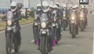 Navy bikers' expedition to spread coastal security awareness flagged off