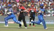 IPL 2018, RCB vs RR: राहुल त्रिपाठी ने जड़ी फिफ्टी, RCB के सामने 165 रनों का लक्ष्य