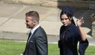 Royal Wedding Live: David Beckham looked dapper along with wife Victoria Beckham