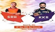IPL 2018, SRH vs KKR: हैदराबाद का टॉस जीतकर गेंदबाजी का फैसला, कोलकाता के सामने है ये बड़ी चुनौती