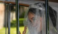 Royal wedding live: First glimpse of Meghan Markle as she leaves hotel wearing tiara and veil to marry Prince Harry at Windsor