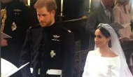 Royal Wedding Live: Meghan Markle and Prince Harry exchange vows