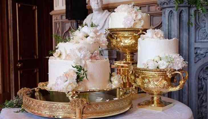 It's heaven! See Prince Harry and Meghan Markle's wedding cake designed by Claire Ptak