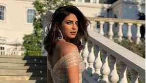 Priyanka Chopra looks jaw-dropping in Dior gown at Meghan Markle And Prince Harry's wedding reception; gorgeous pics inside
