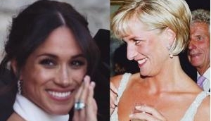 Royal Wedding: Meghan Markle honored Princess Diana by wearing her aquamarine ring at Frogmore House reception