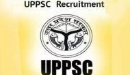 UPPSC: ड्रग इंस्पेक्टर ,रेडियो अधिकारी के सैकड़ों पदों पर निकली वैकेंसी, जल्द करें अप्लाई
