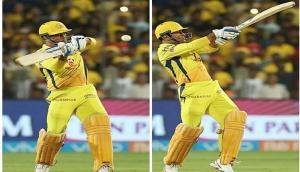 IPL 2018: धोनी के छक्के पर खुशी से 'पागल' हुए राजस्थान के रजवाड़े, देखें वीडियो