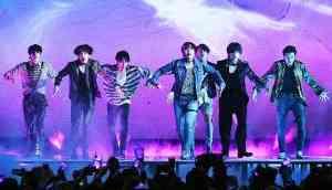 Korean-pop band BTS debut performance 'Fake Love' brings devout fans to tears at Billboard Music Awards 2018