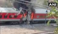 Breaking: चलती राजधानी एक्सप्रेस में लगी भयंकर आग, धू-धूकर जल उठे एसी के 4 कोच