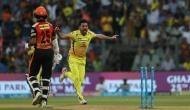 IPL 2018, CSK vs SRH: चहर का कहर शुरू, गब्बर की बिखेरीं गिल्लियां