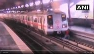 दिल्लीः ट्रेक पार कर रहा था शख्स, तभी सामने से आई मेट्रो...देखें सांस थमा देने वाला वीडियो